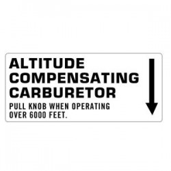 Altitude Compensating Carb Decal ATC90 70-72