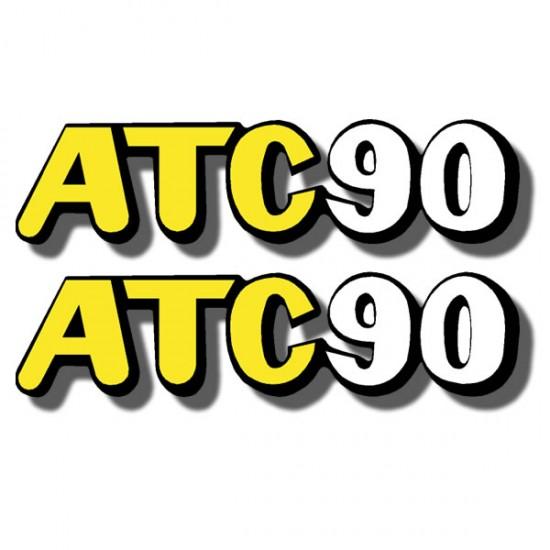 Rear Fender Decal ATC90 72-73