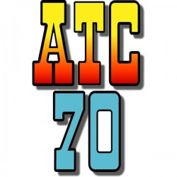 Rear Fender Decal ATC70 73