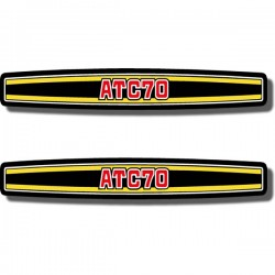 Rear Fender Decal ATC70 74
