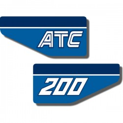 Rear Fender Decal ATC200 83