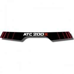 Rear Fender Decal ATC200X 85