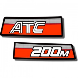 Rear Fender Decals ATC200M 84