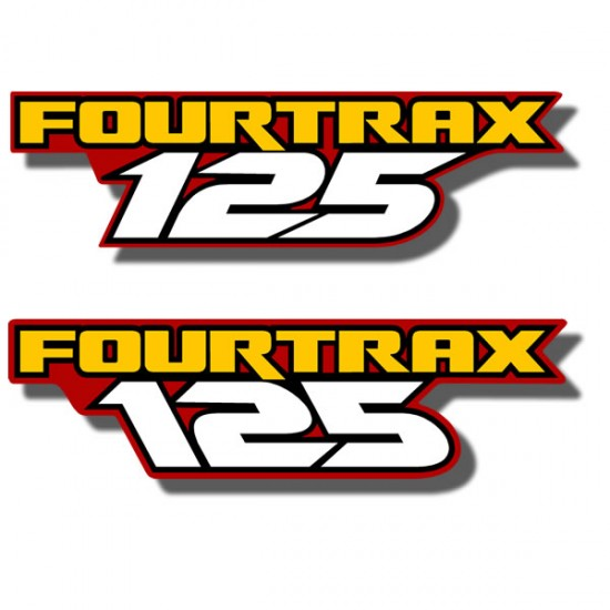 Fender Decals TRX125 '86