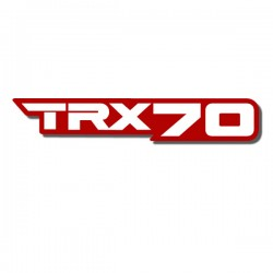 Front Fender Decal TRX70 86