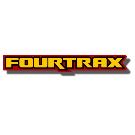 Front Fender Decal TRX125 '86