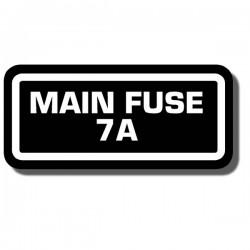 Fuse Info Decal ATC125M | ATC200M |TRX125