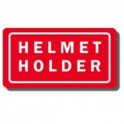 Helmet Holder Decal TRX70 86-87