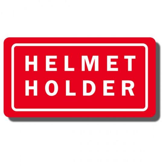 Helmet Holder Decal TRX70 86-87