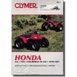 Clymer Workshop manual ATC and TRX 70-125