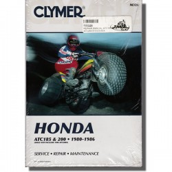 Clymer Workshop manual ATC185/S | ATC200 | ATC200X