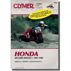 Clymer Workshop manual ATC250R 81-84