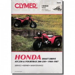 Clymer Workshop manual ATC250ES | ATC250SX