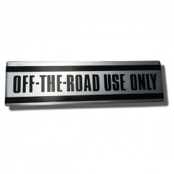 Off Road Use Only Decal ATC90 70-72