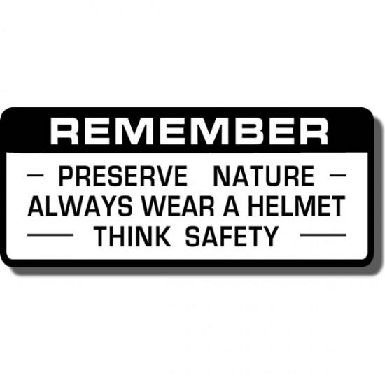 Preserve Nature Decal ATC70 | ATC90