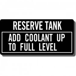 Reserve Tank Decal ATC250R 85-86