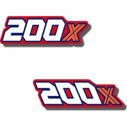 Rear Fender Side Decals ATC200X 84-85