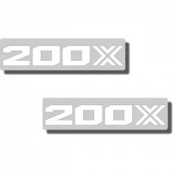 """Seat Stencil ATC200X '85, """"200X"""""""
