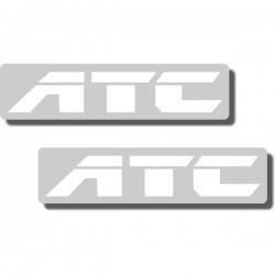 "Seat Stencil ATC200X '86, ATC350X '86, ""ATC"""