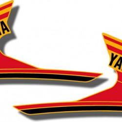 Tank Decals Yamaha Tri Moto YTM200E