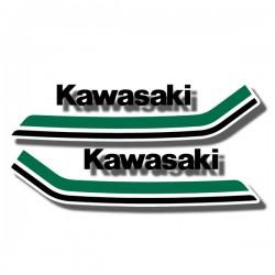 Tank Decals Kawasaki KV75 '79