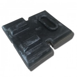 Tank Mount Rubber Rear, ATC90 70-78, ATC110 79-80