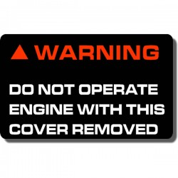 Pulley Cover Decal FL250 Odyssey 77-84
